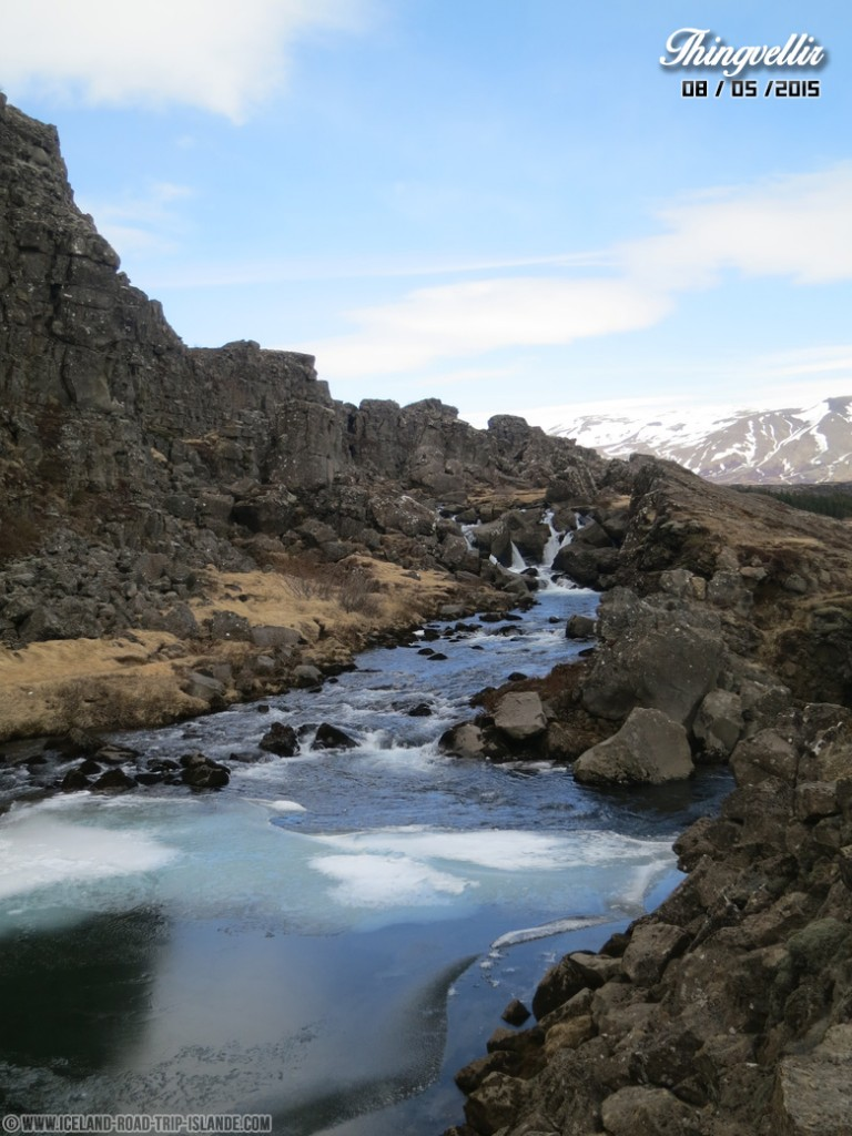 Le point de vue de Thingvellir