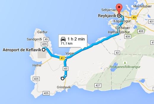 Road Trip en Islande de Keflavik à Reykjavik