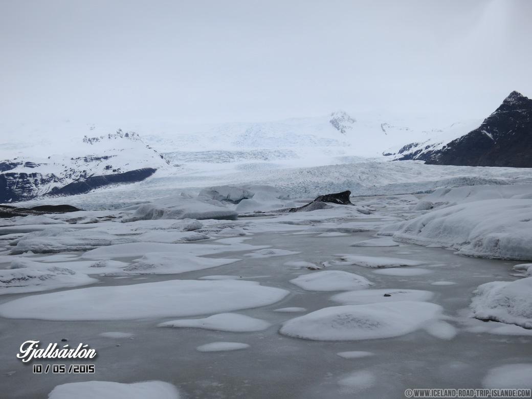 Les Icebergs de Fjallsárlón
