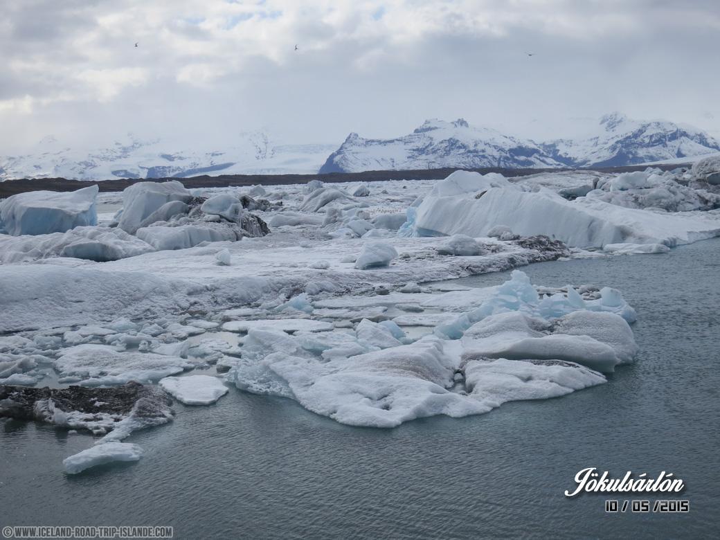 Les Icebergs de Jökulsárlón