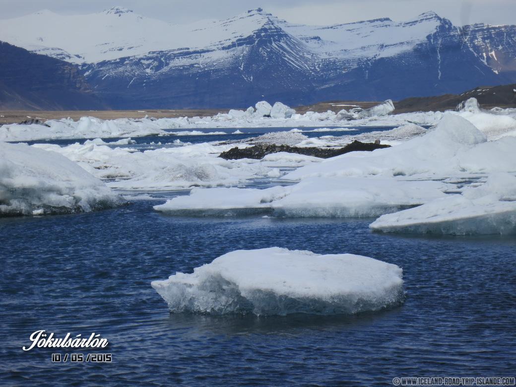 Jökulsárlón : Des icebergs magnifiques