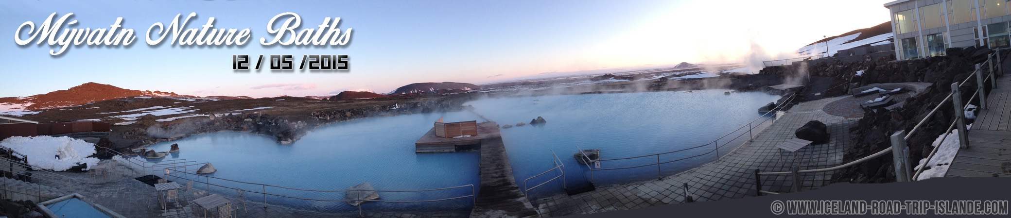 Panorama de Mývatn Nature Baths