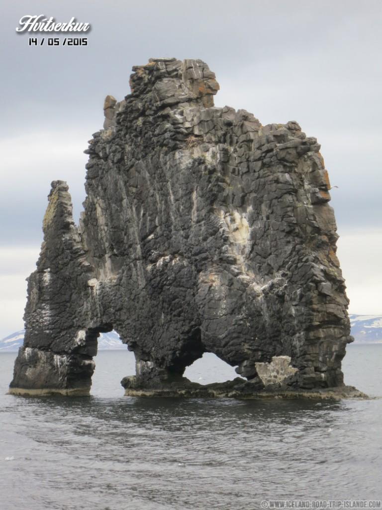 L'arche de Hvítserkur