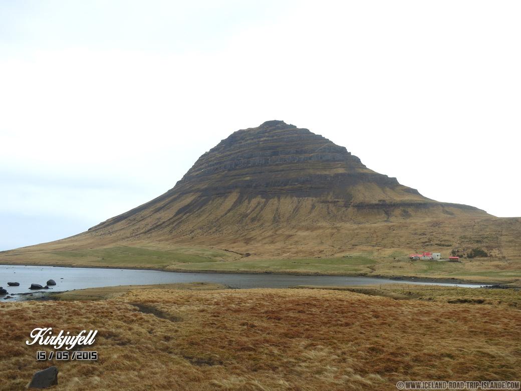 La montagne parfaire de Kirkjuffell