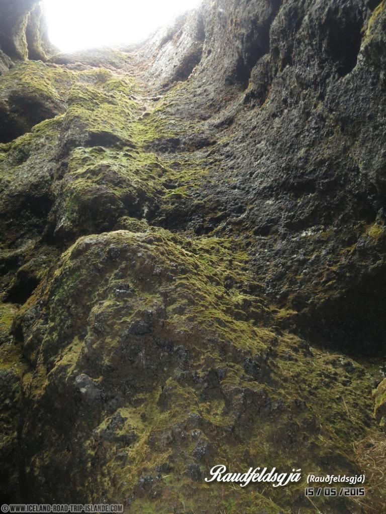 La vue à l'intérieur de la Gorge