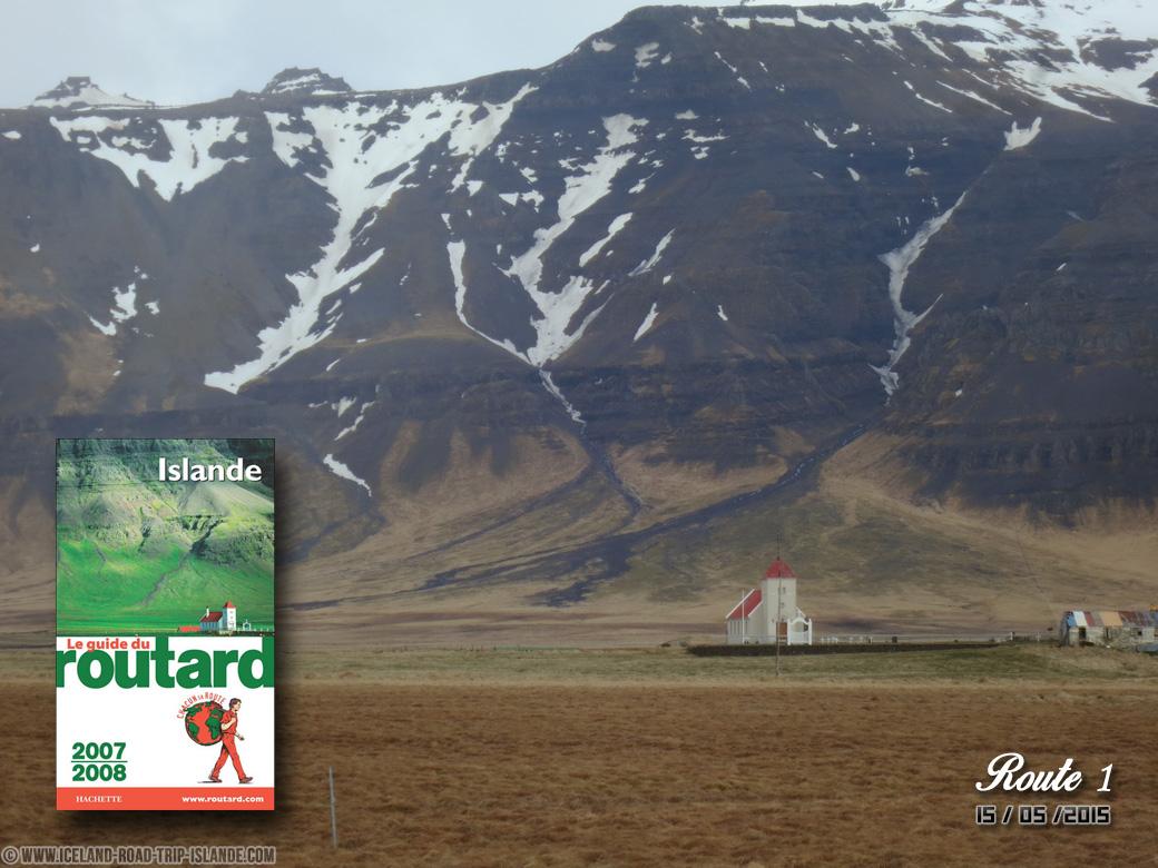 L'église présente sur la couverture du Guide du Routard 2007-2008