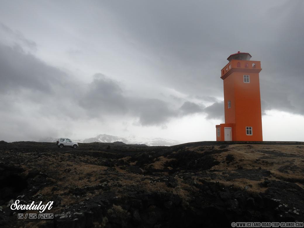Le phare de Svortuloft