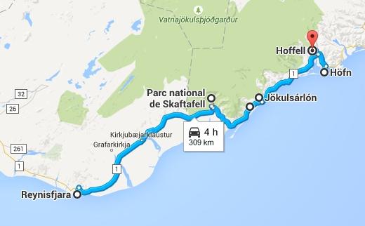 Road Trip en Islande de Skaftafell à Höfn