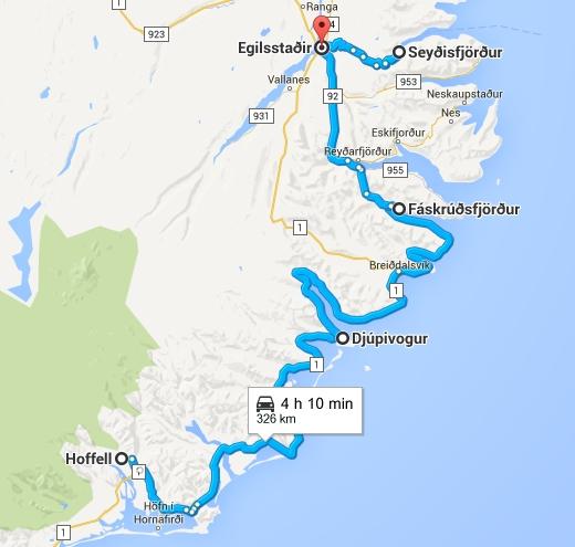 Road Trip en Islande de Djúpivogur à Egilsstaðir